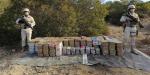 Aseguran 918 kilos de droga sintética en el sur de San Quintín