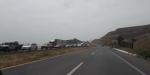 Fila de hasta 5 kilómetros para entrar a Ensenada