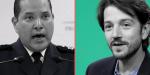 Jefe de la Policía Federal arremete contra Diego Luna