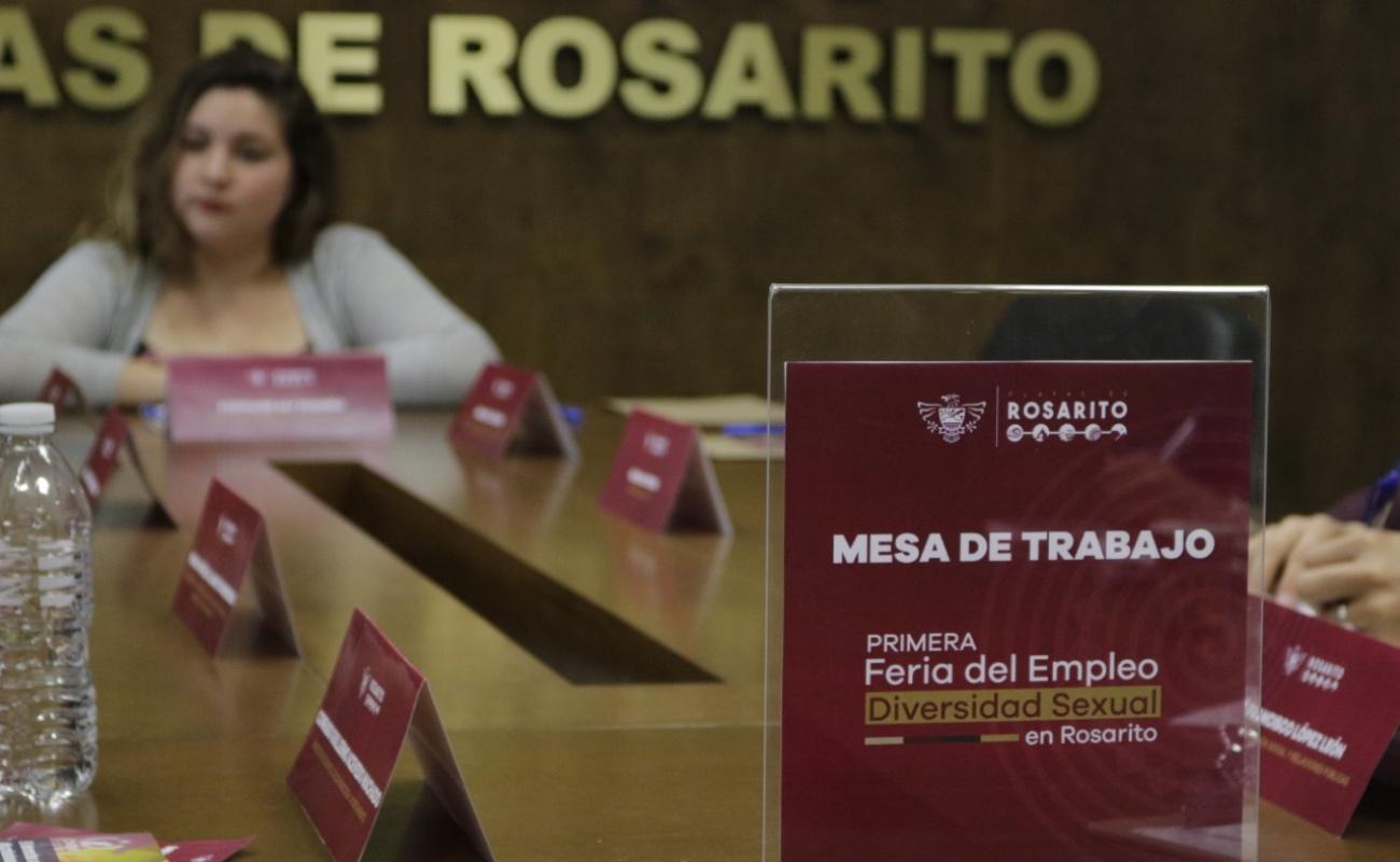 Preparara Rosarito feria del empleo de diversidad sexual