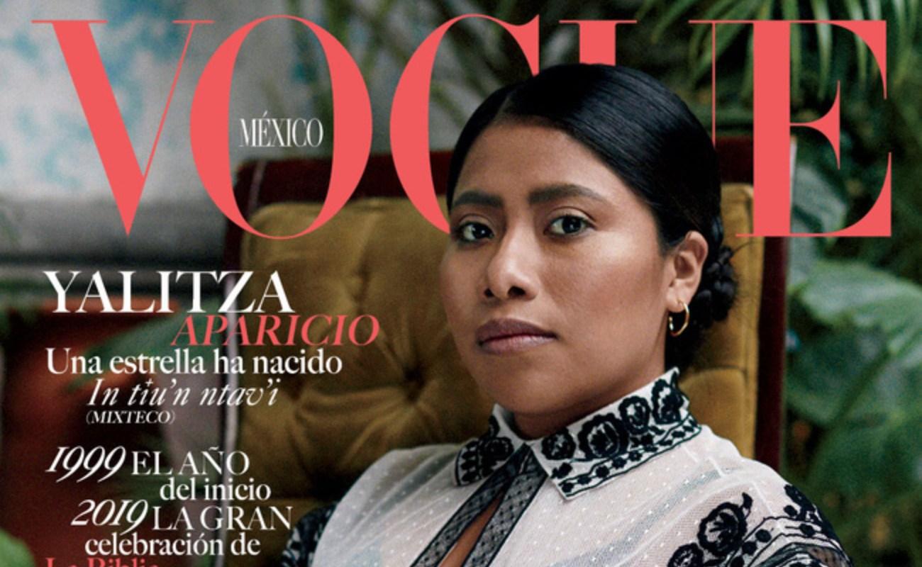Yalitza Aparicio, la oaxaqueña que conquista Hollywood, acapara portadas de revistas