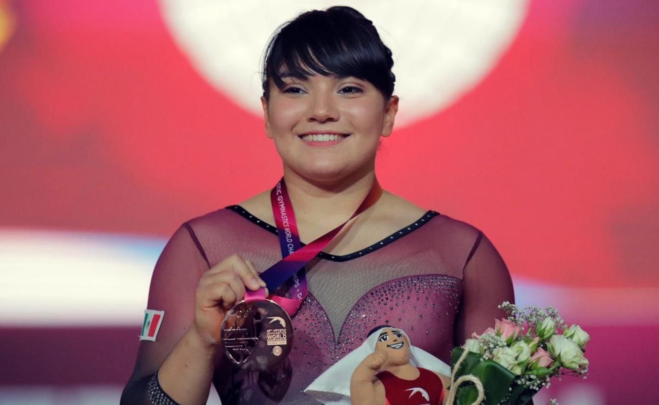Alexa Moreno enorgullece a BC y México con bronce en Campeonato Mundial