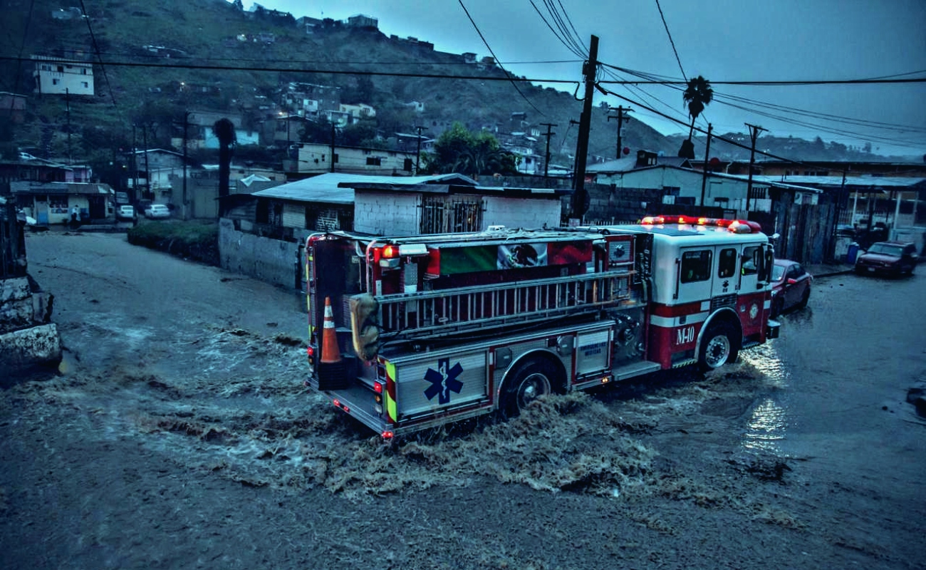 Ante pronóstico de tormenta esta semana, se esperan inundaciones en Tijuana, Ensenada, Tecate y Rosarito