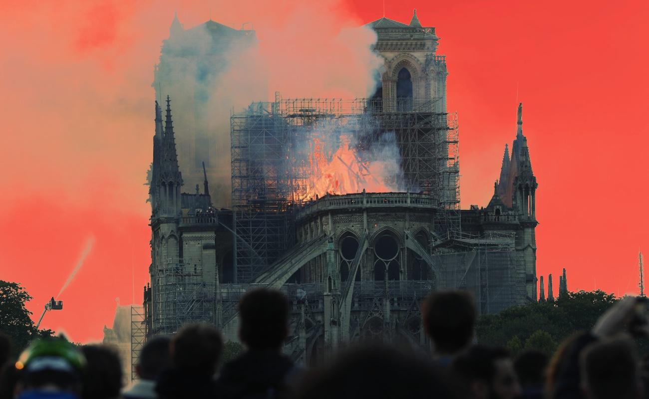 El incendio de Notre Dame, el fin de un patrimonio incalculable