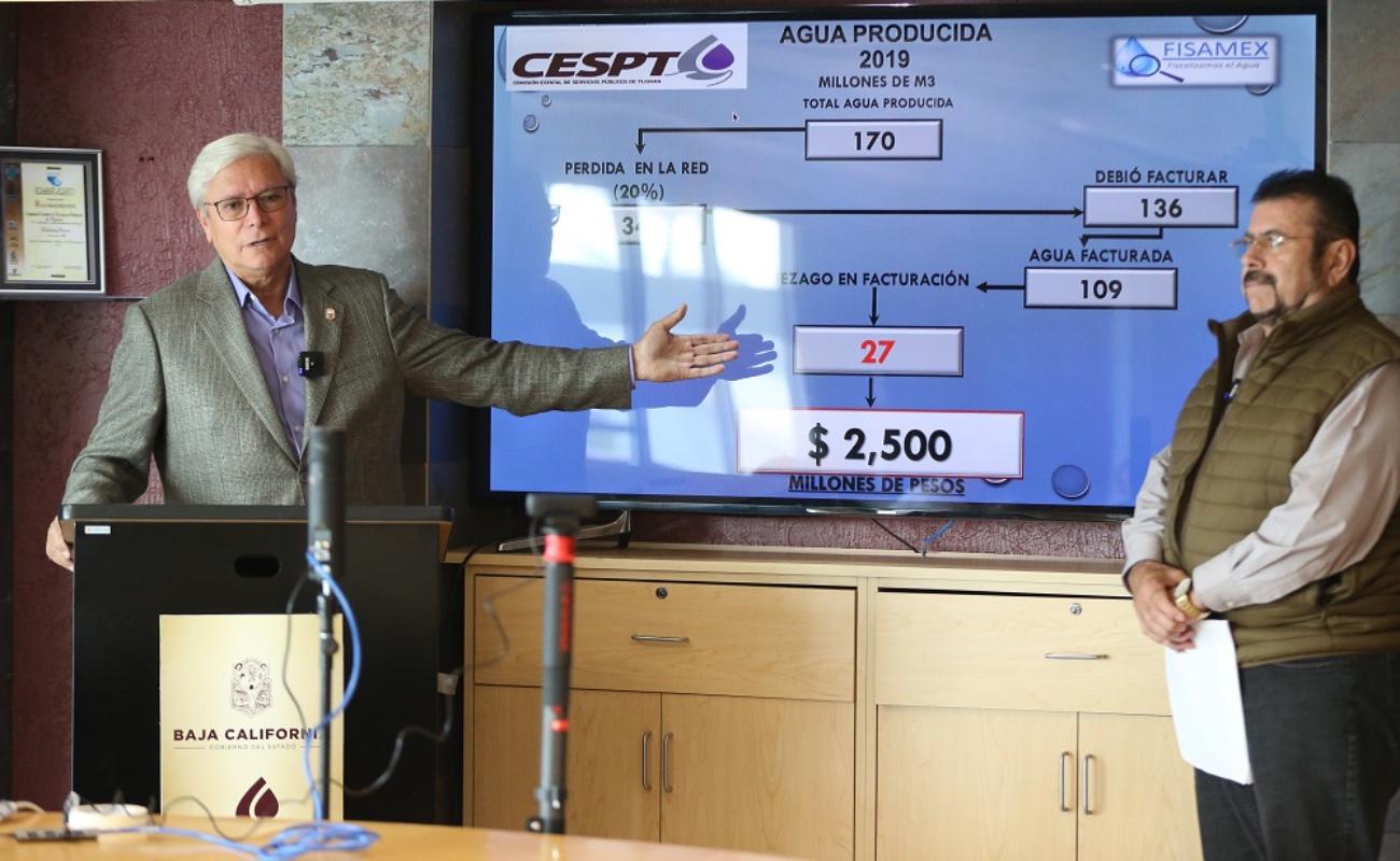 Registra CESPT pérdidas de 2 mil 500 mdp por corrupción de gobiernos anteriores
