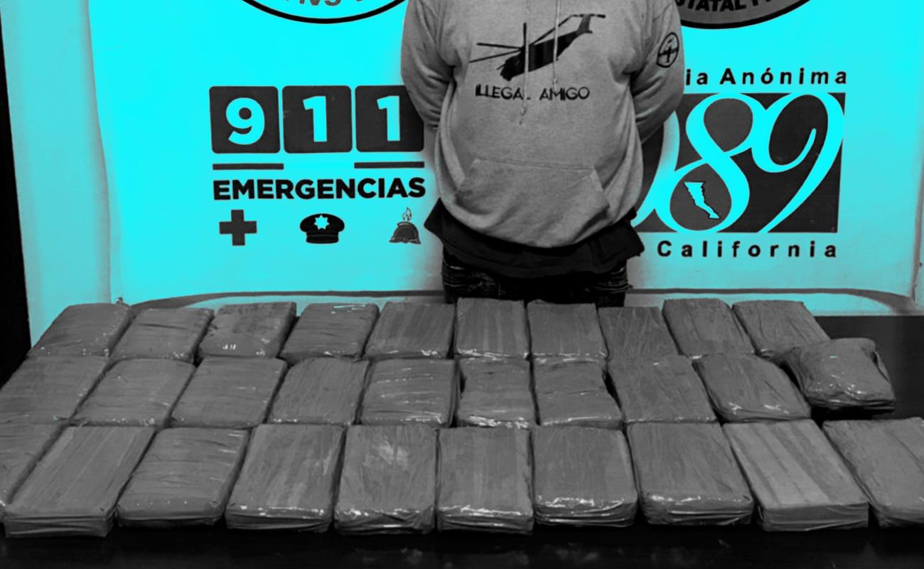 Les encuentran un arsenal y 30 kilos de cocaína