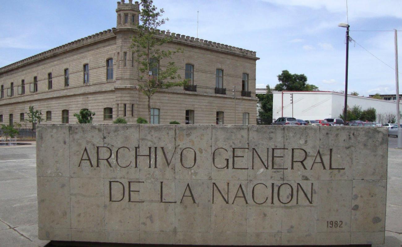 Se desconoce 60 por ciento del acervo del Archivo General de la Nación