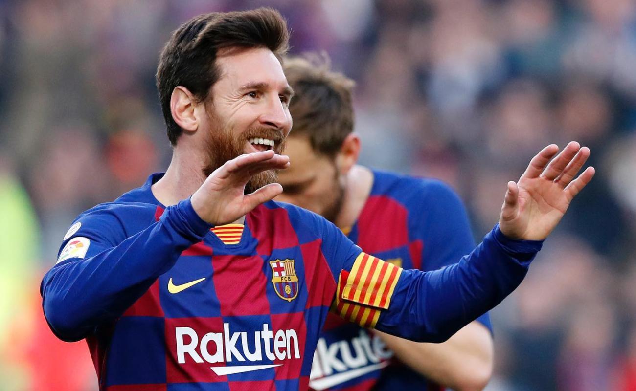 Lionel Messi anuncia que se quiere ir del Barcelona