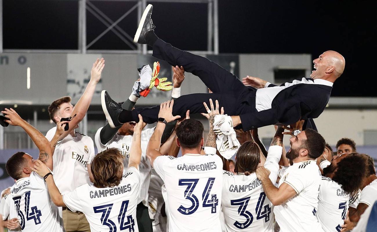 Real Madrid recupera el trono del futbol español