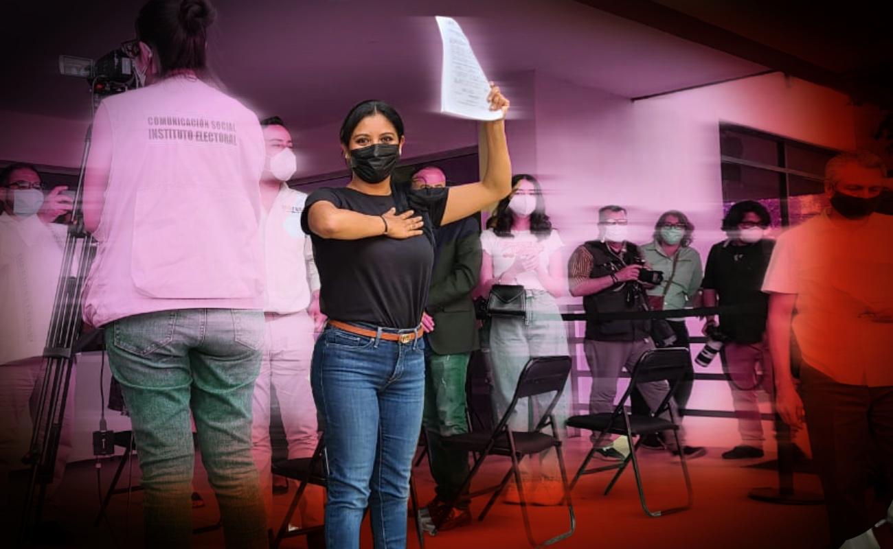 Solicita Montserrat Caballero registro para contender por alcaldía de Tijuana