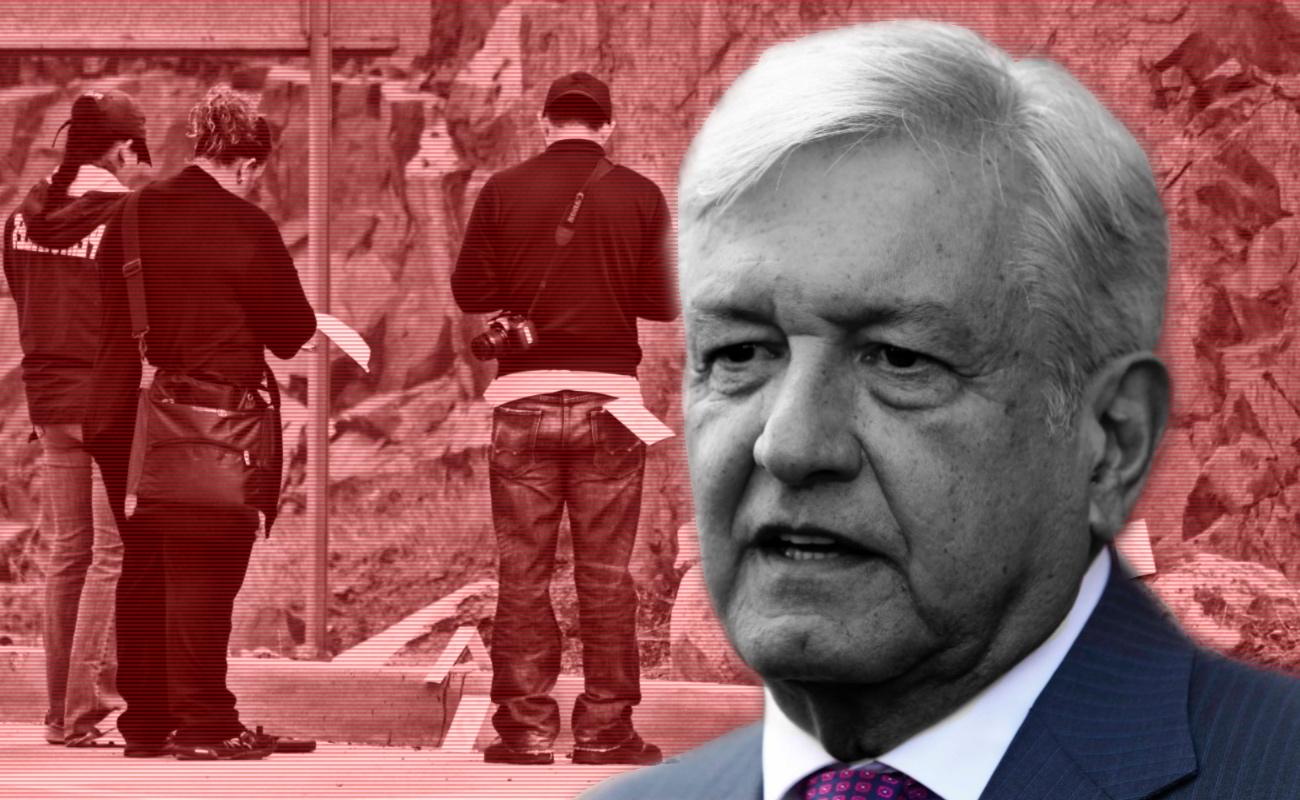 Gobierno castigará a delincuentes, afirma López Obrador