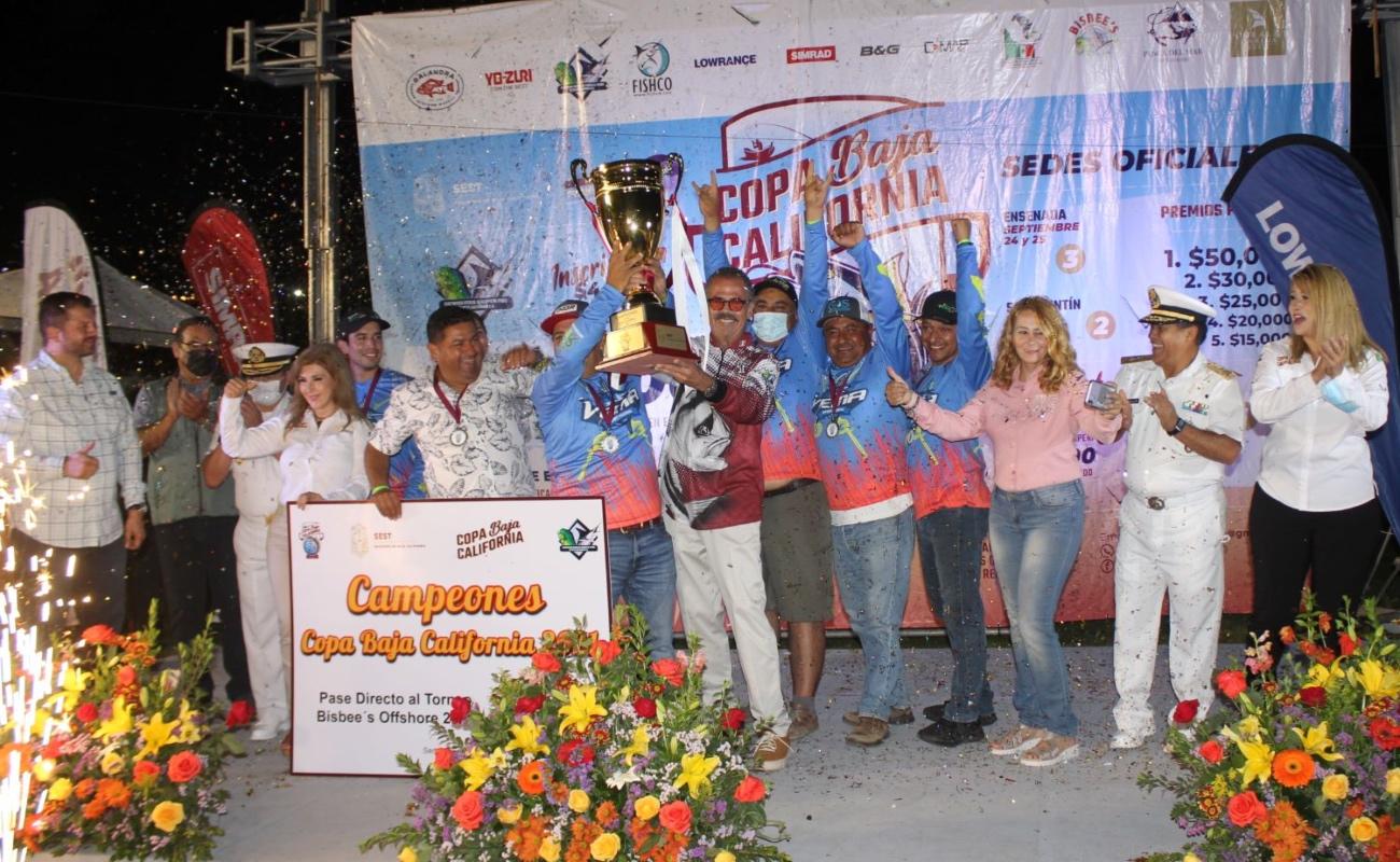 "Gran final de ""Copa Baja California"" de pesca deportiva"