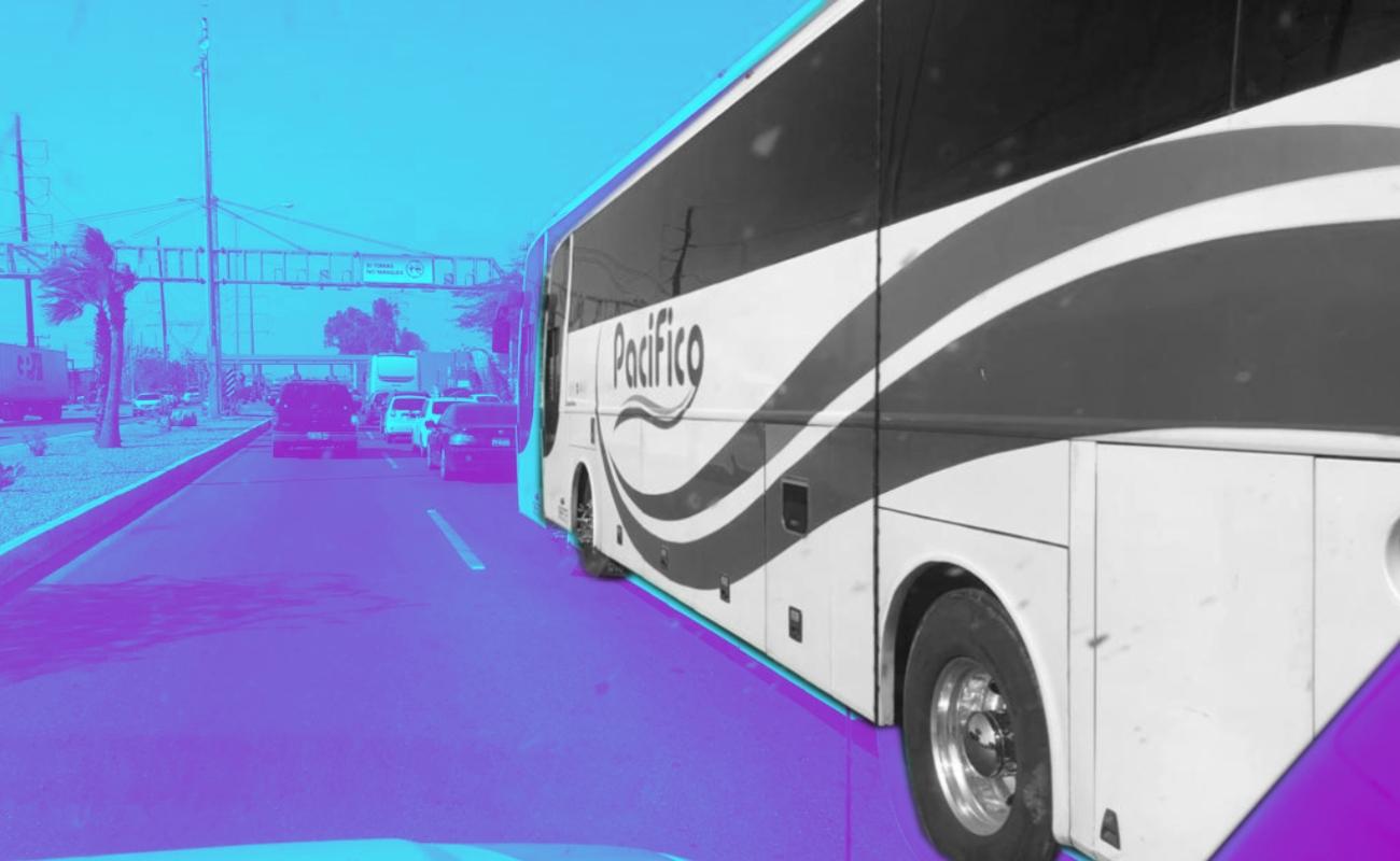 Llega a BC caravana de migrantes lésbico-gay