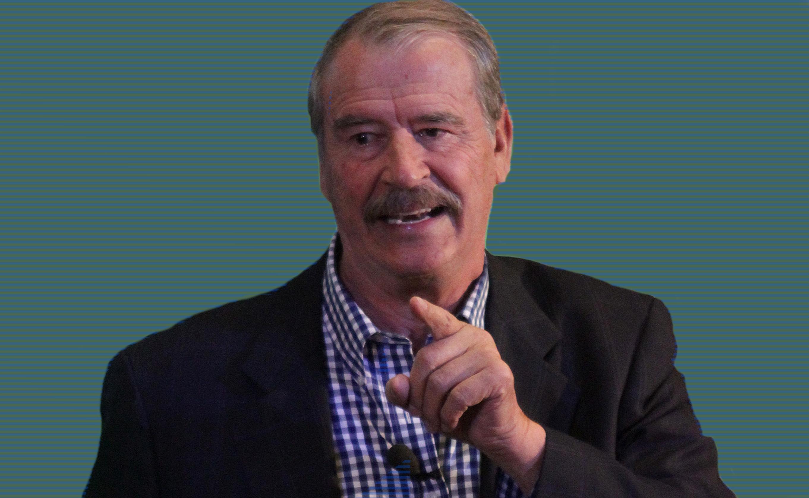 Rechaza Vicente Fox tener deudas con el SAT