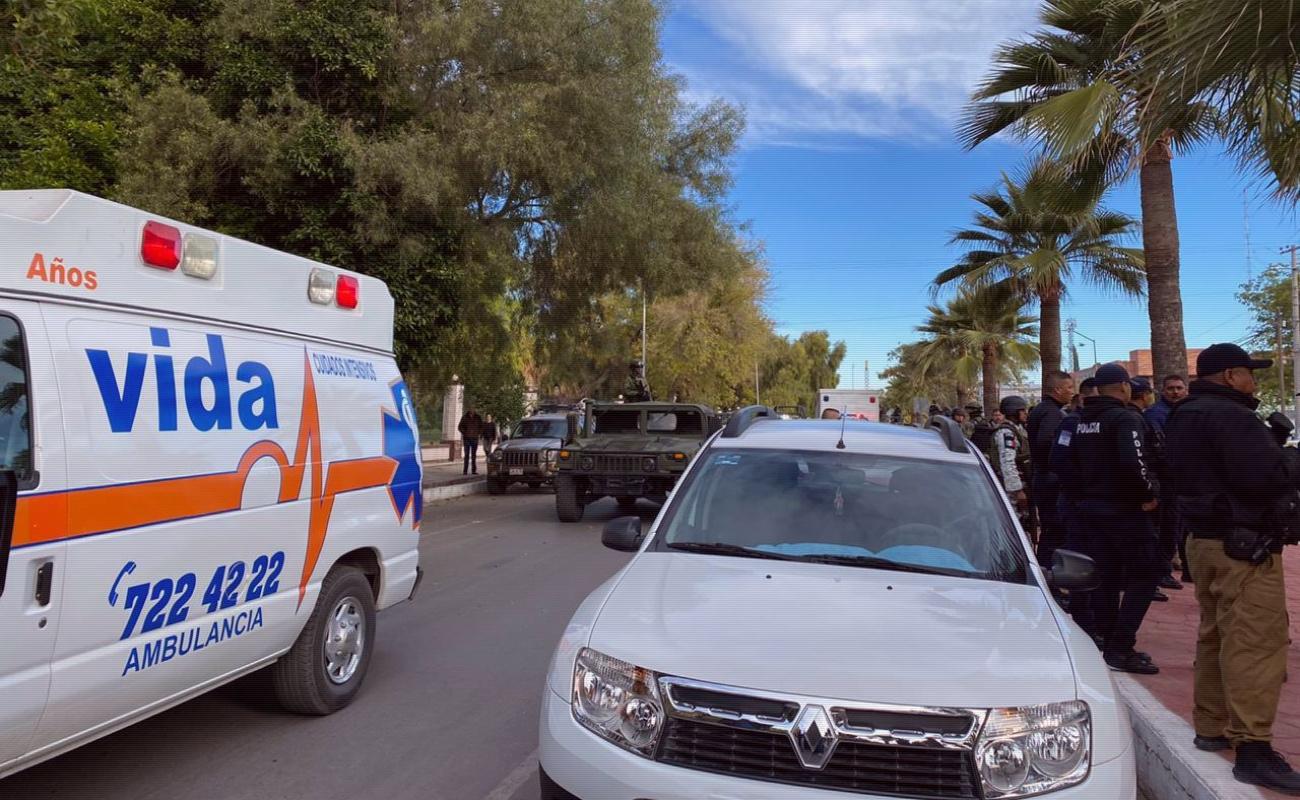 Fuera de peligro, heridos por tiroteo en Torreón Sanatorio Español