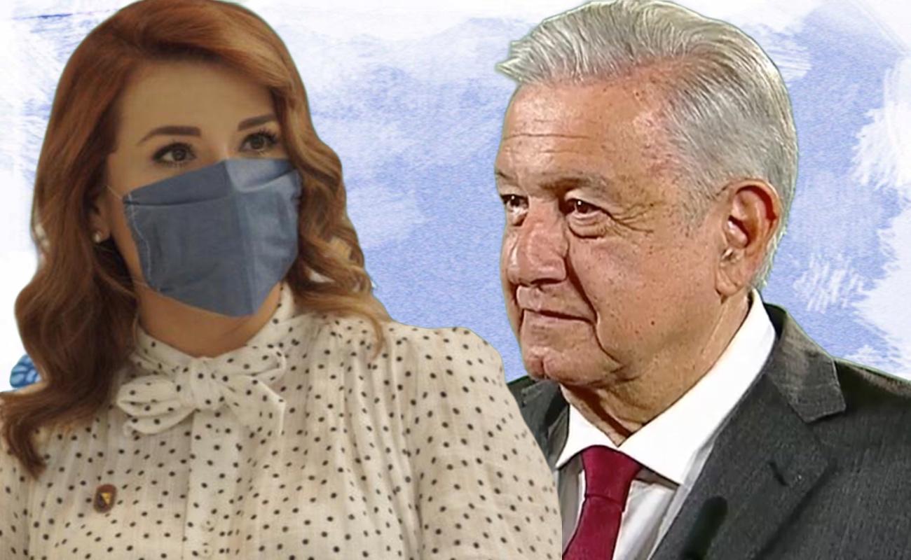 Agradece Marina del Pilar apoyo de López Obrador a su próximo gobierno