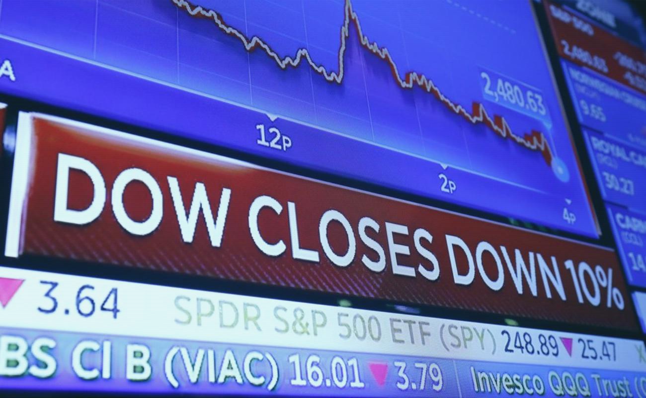 Sufren bolsas del mundo fuertes pérdidas; BMV cae 5.28 por ciento