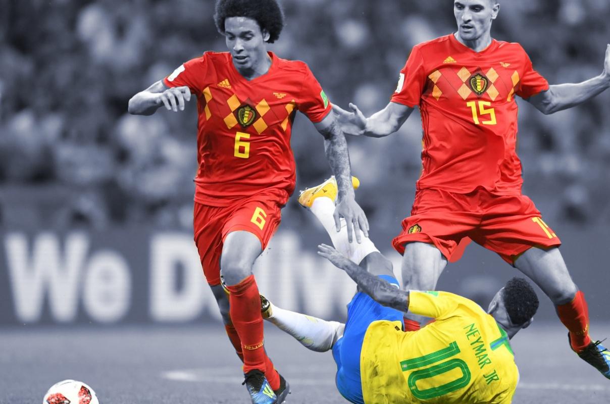Bélgica elimina a Brasil del mundial; el campeón será europeo