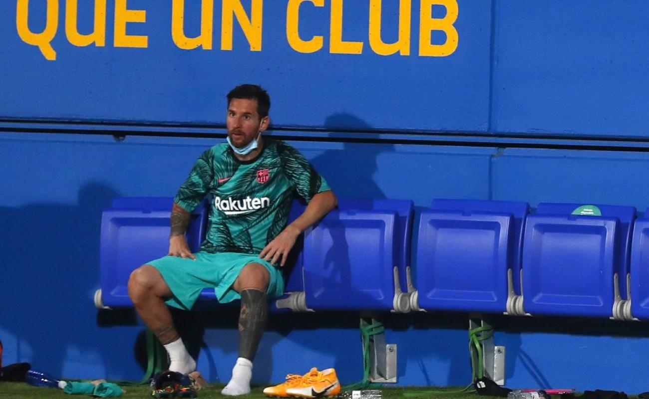 Messi arremete contra el Barsa por salida de Luis Suárez