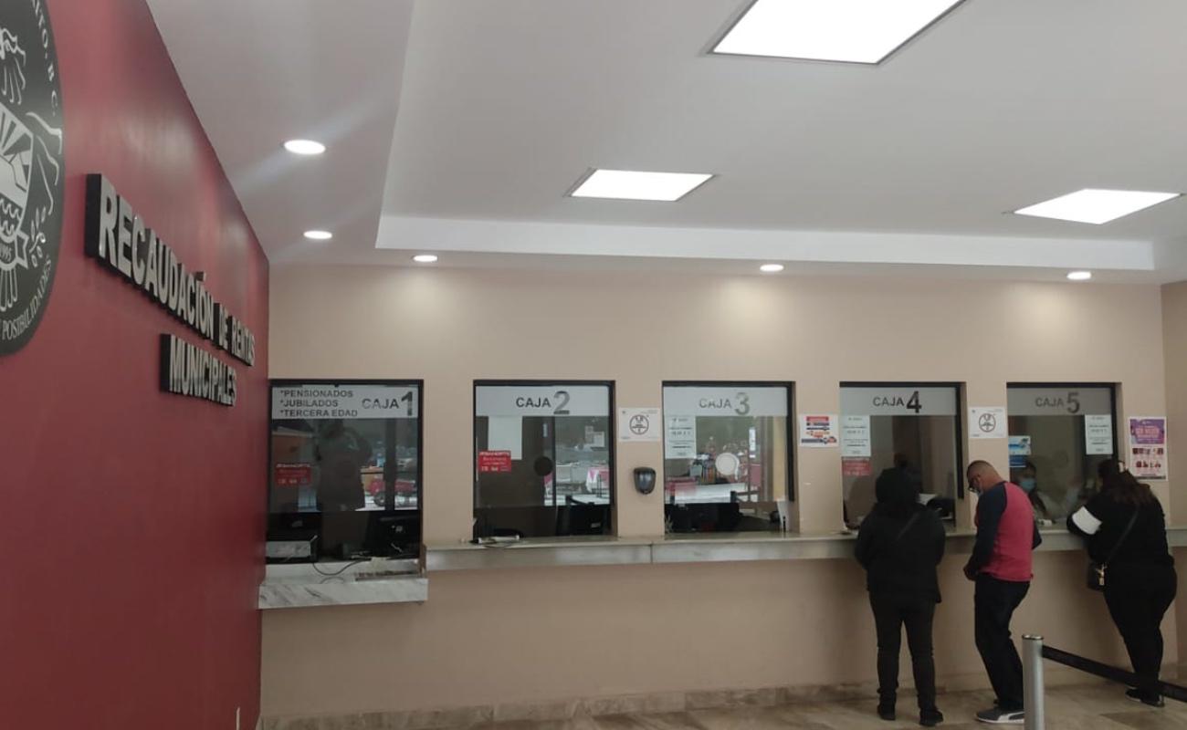Aprueban en Rosarito condonación del 100 por ciento en multas y recargos en pago de impuestos