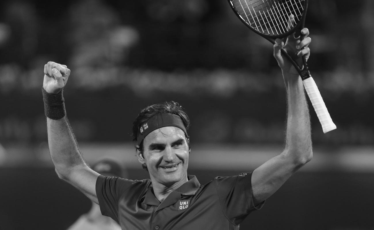 Roger Federer hace historia: suma cien torneos ganados