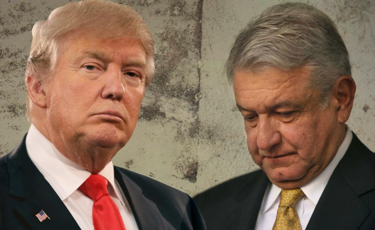 """""""Ellos nos necesitan, nosotros no"""", dice Trump; AMLO responde """"Soy dueño de mi silencio"""""""