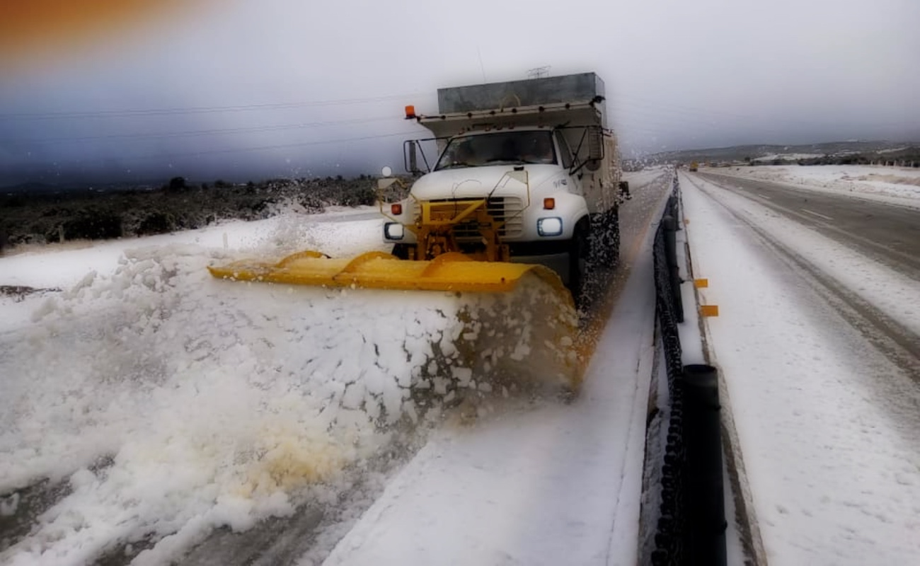 Posible caída de nieve o agua nieve en Tijuana y Tecate