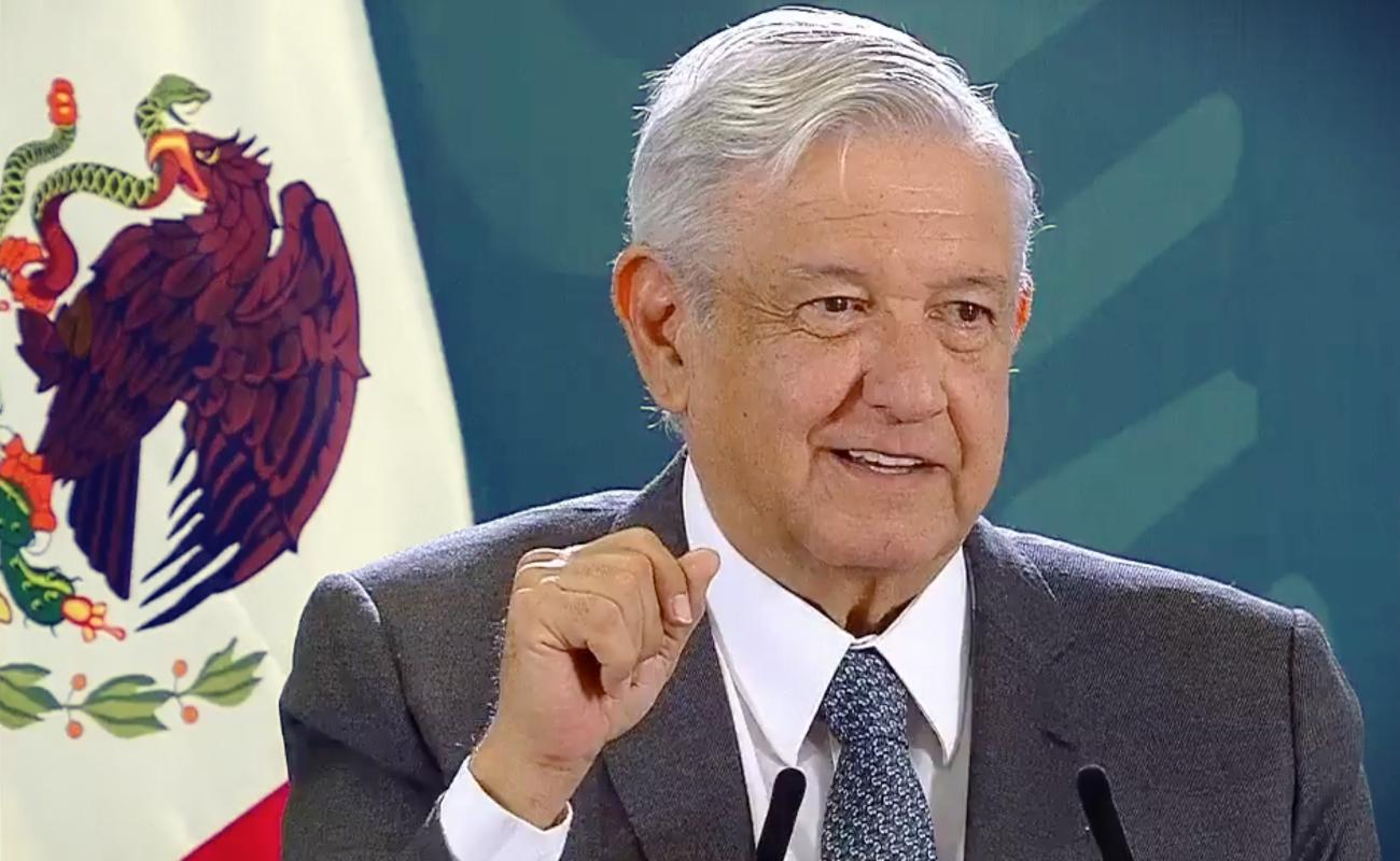 """""""Ya vamos de salida de la epidemia; no perdamos las esperanzas"""": López Obrador"""