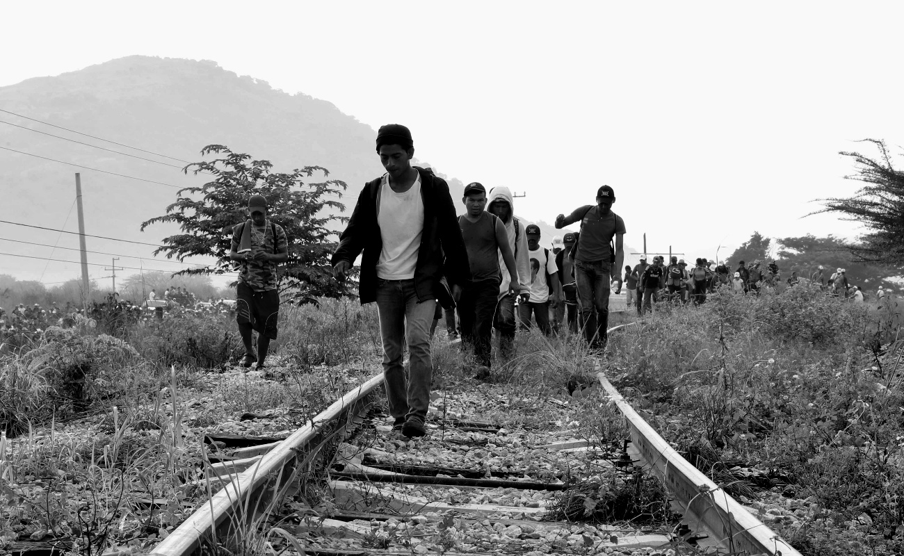 Caravana migrante vive horas de incertidumbre y temor