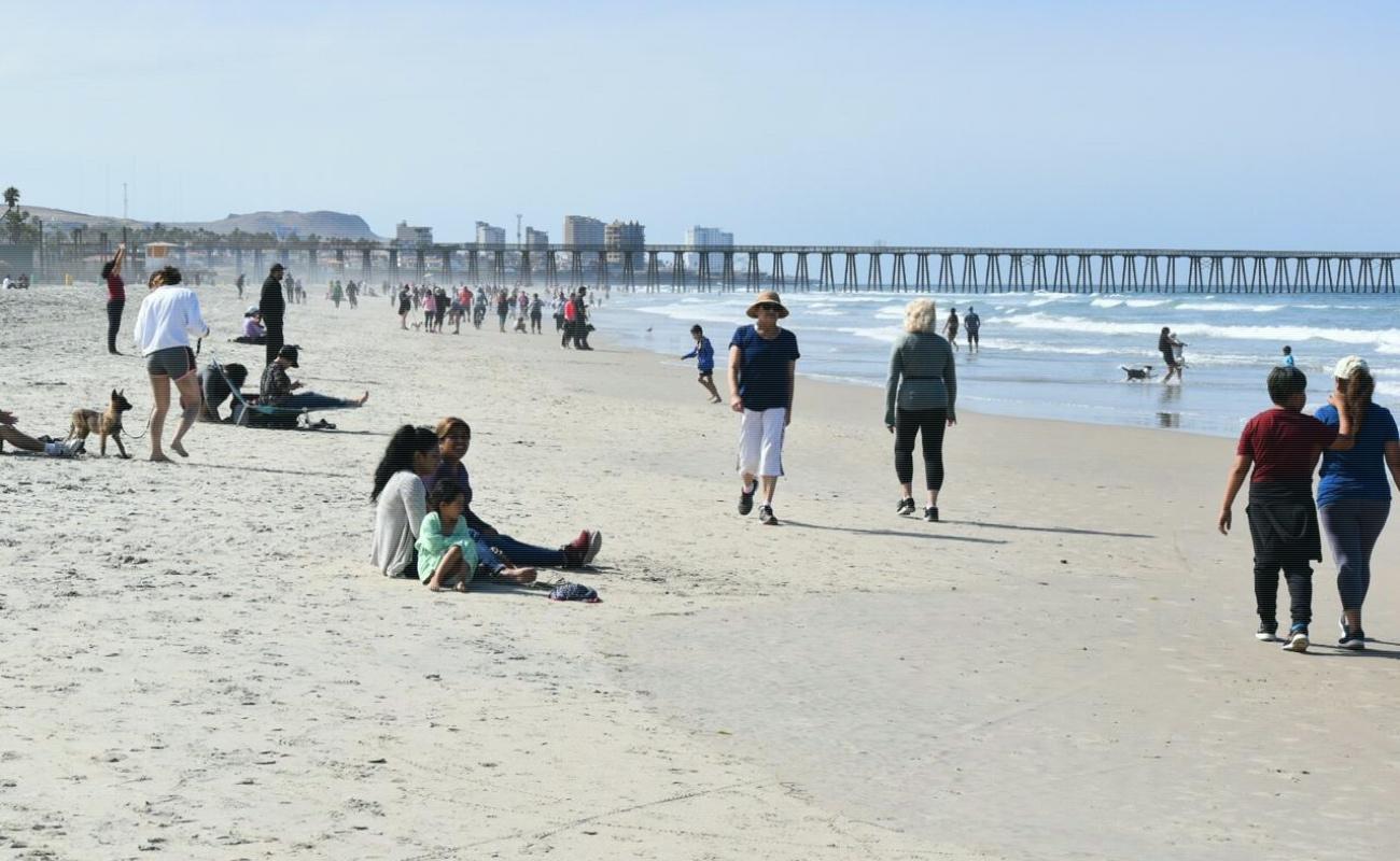 Siguen cerradas playas durante el fin de semana en Rosarito