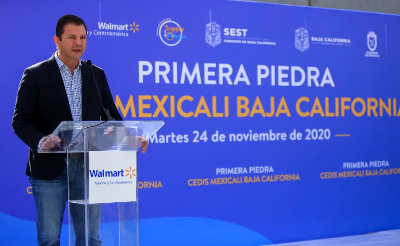 Abre Walmart centro de distribución en Mexicali
