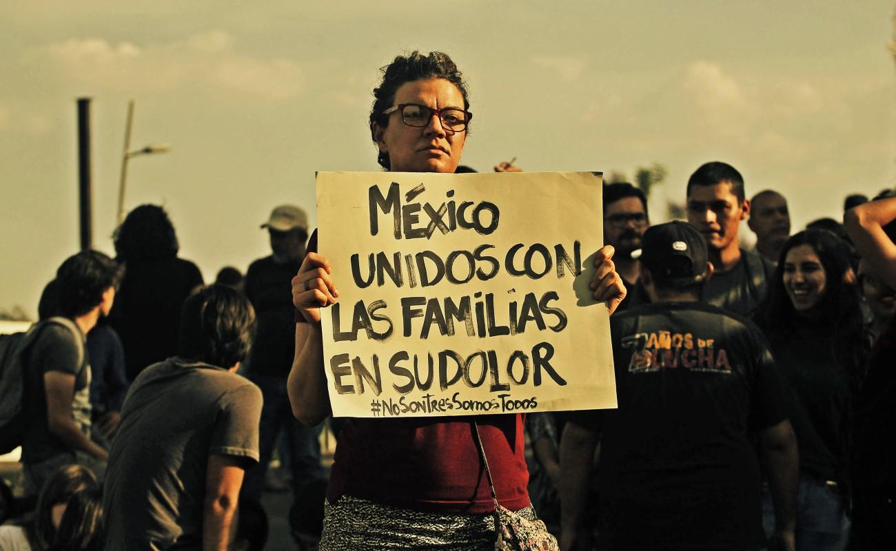 Reportan que hay más de 45 mil personas desaparecidas en México