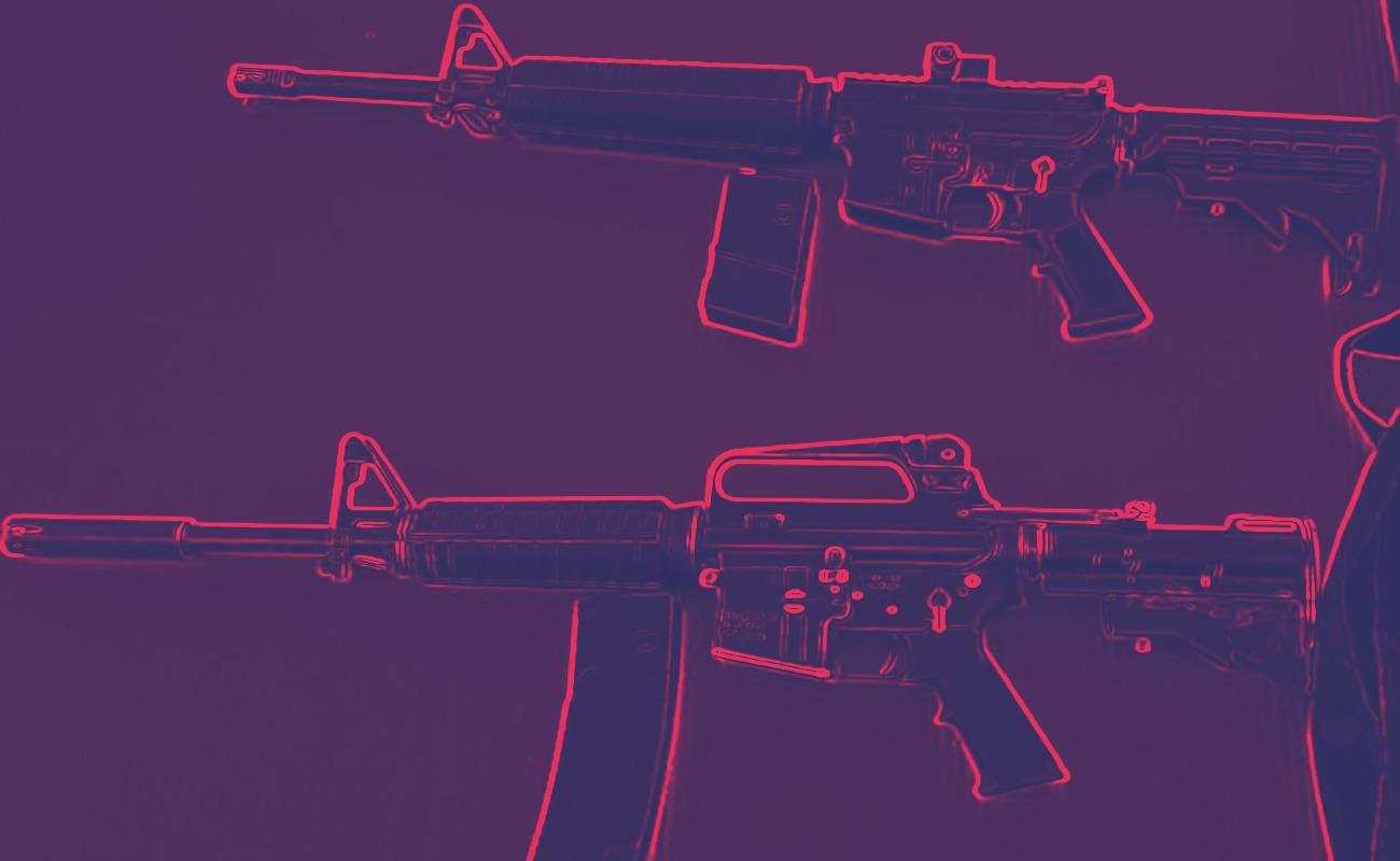 Cae en Zona Este con dos fusiles de asalto tras persecución