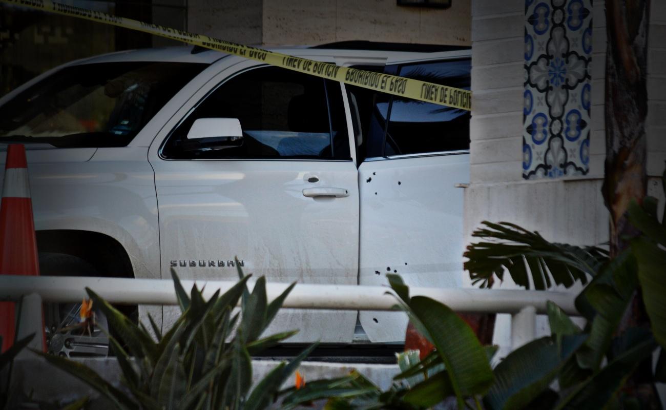 Tres heridos de bala en el Lucerna de Ensenada