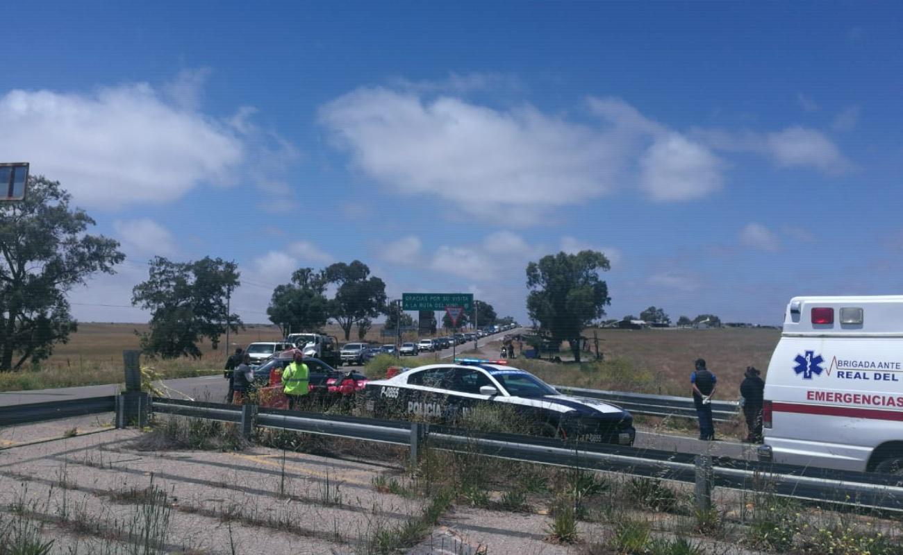 Reportan 61 mil vehículos que han cruzado por filtro de El Sauzal