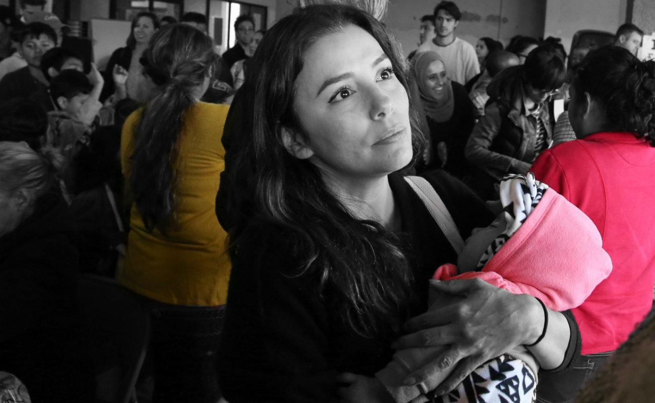 Actrices y actores de Hollywood estuvieron en Tijuana para apoyar a menores migrantes