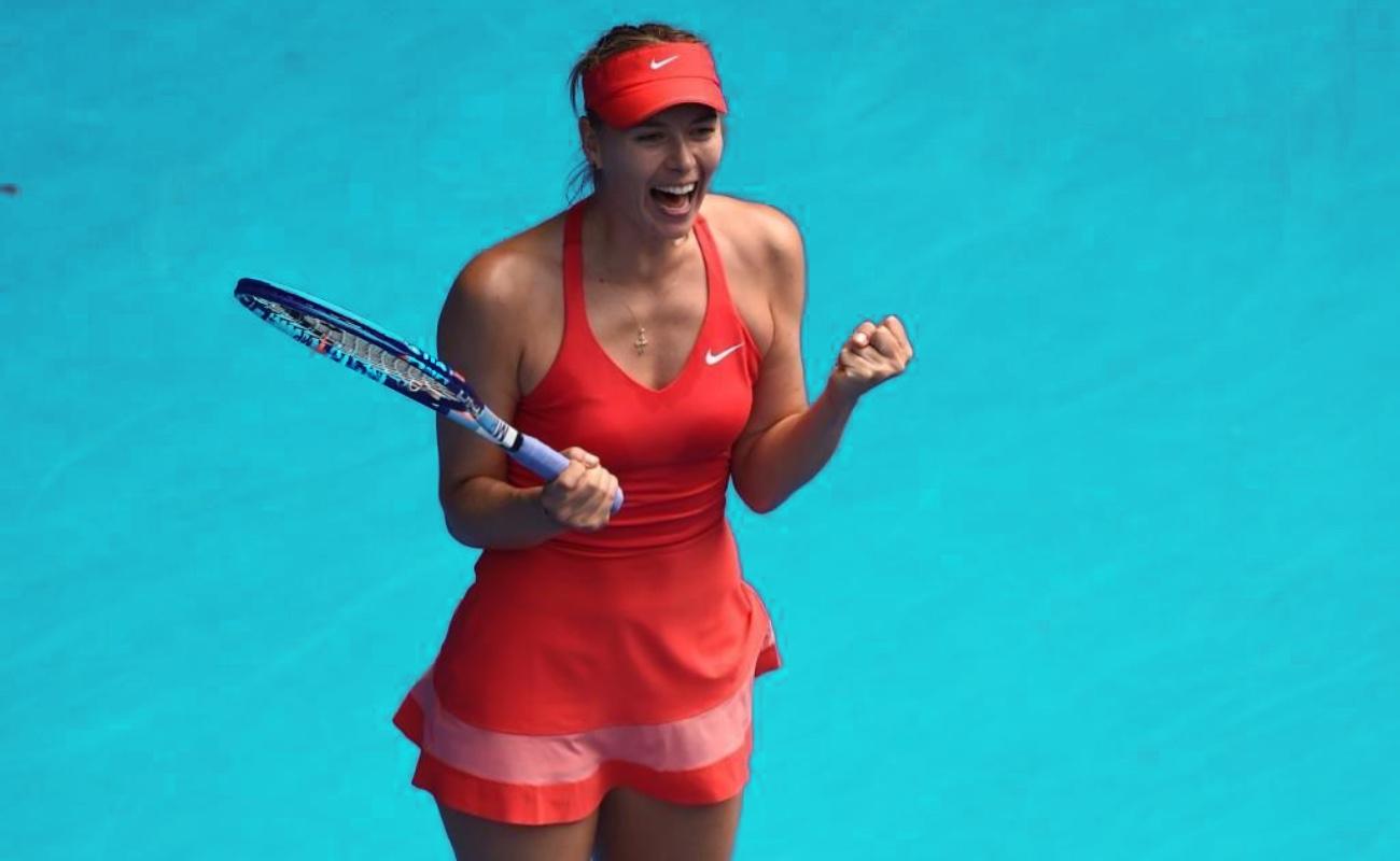 María Sharapova deja las canchas de tenis