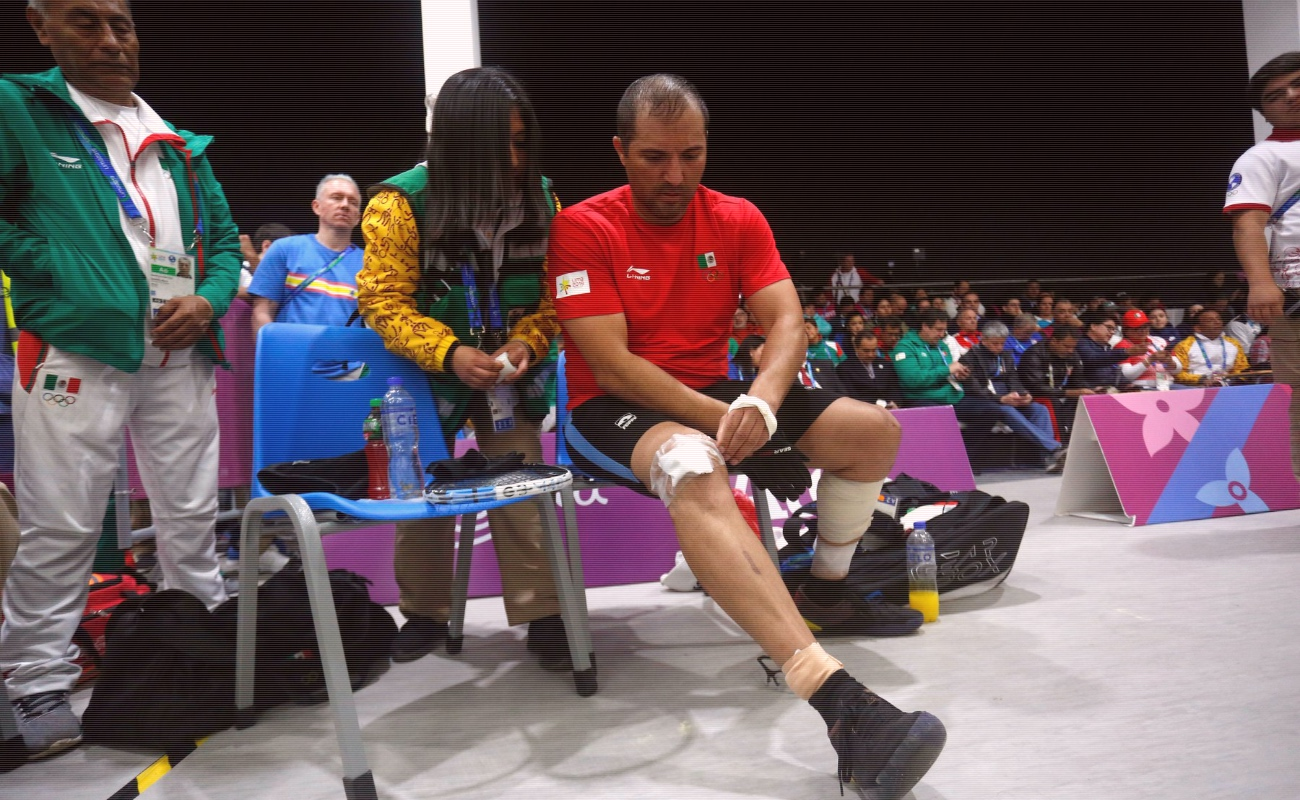 Tijuanense Álvaro Beltrán gana plata en raquetbol en Lima 2019