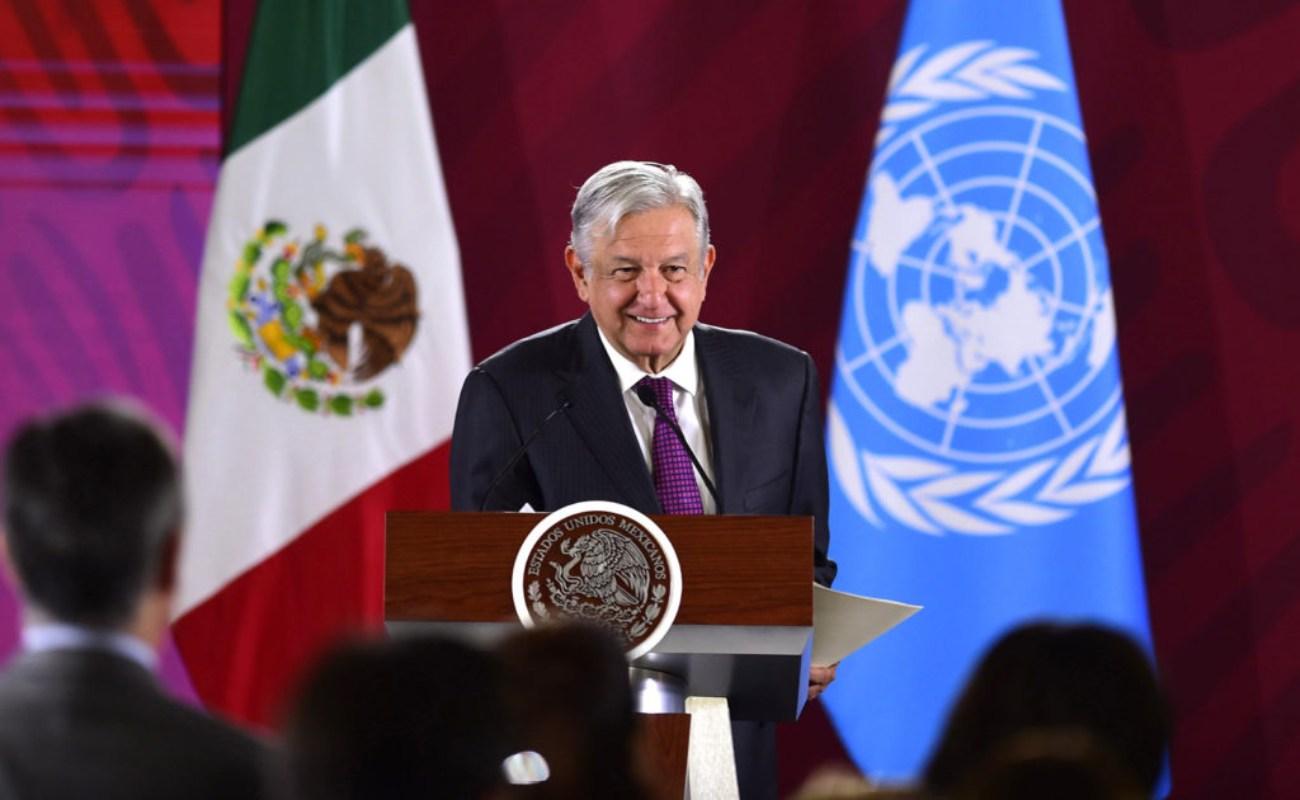 Pide AMLO a Trump cooperar en desarrollo de Centroamérica y México para frenar migración