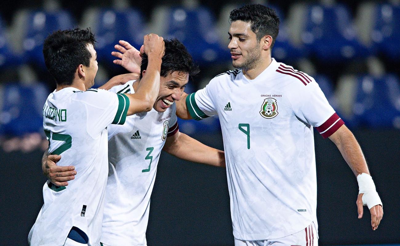 México vence 3-2 a Corea del Sur en juego amistoso