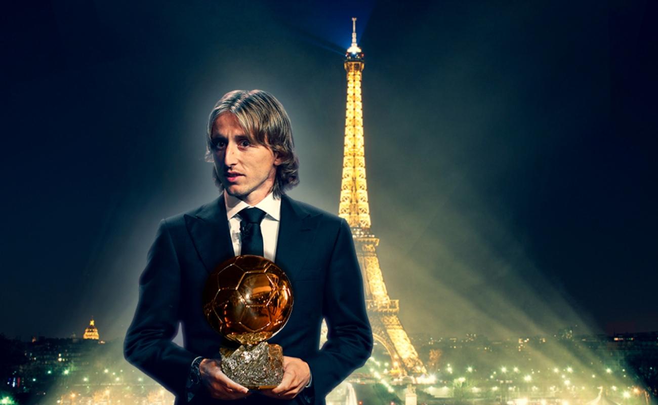 Luka Modric el mejor jugador del mundo; gana Balón de Oro 2018