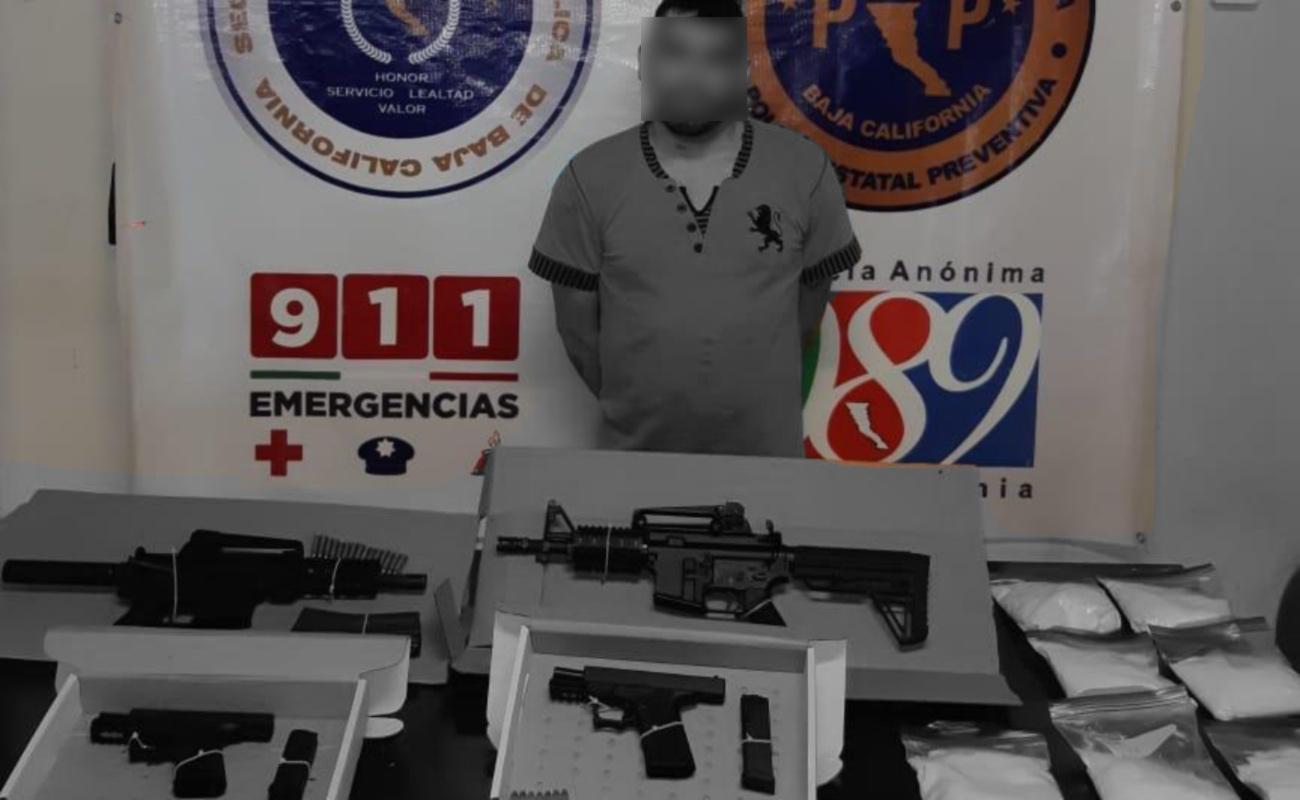 """Cayó con armas y droga miembro del CAF bajo el mando de """"El Cabo 20"""""""