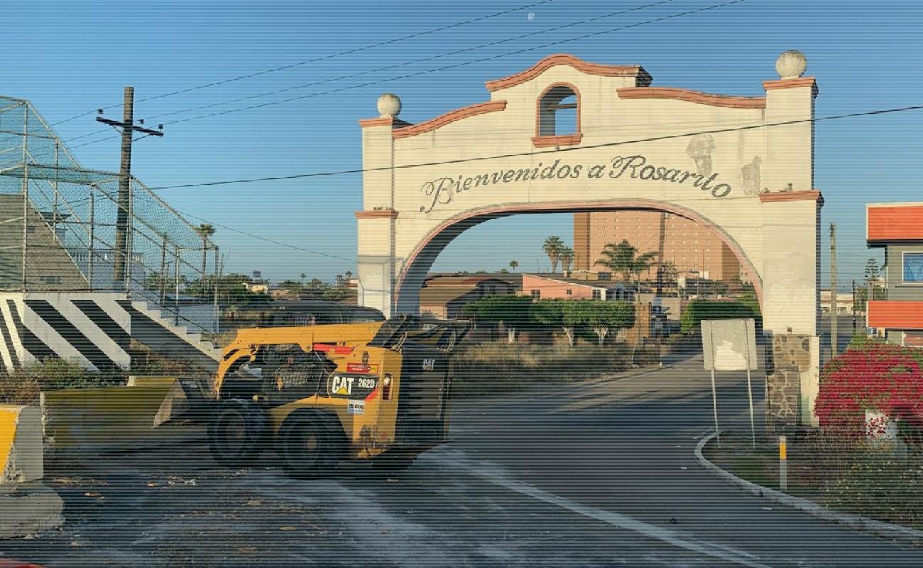 Reabren a la circulación los accesos a Playas de Rosarito