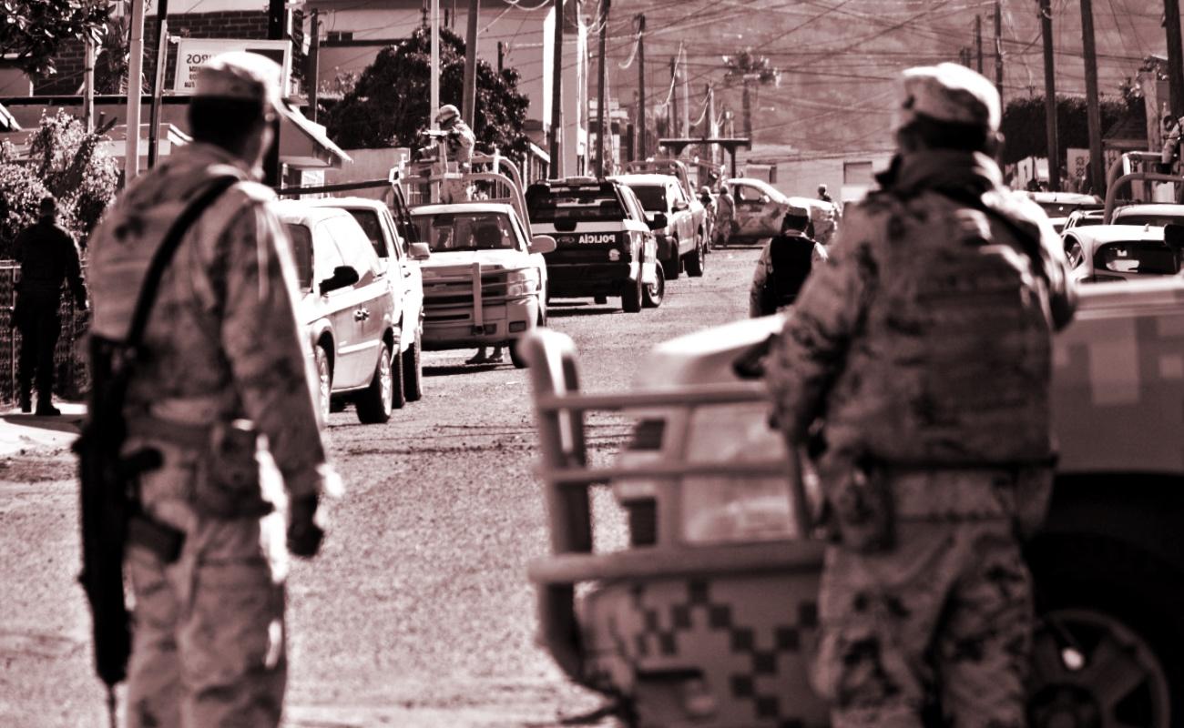 Ejército en las calles va contra la Constitución