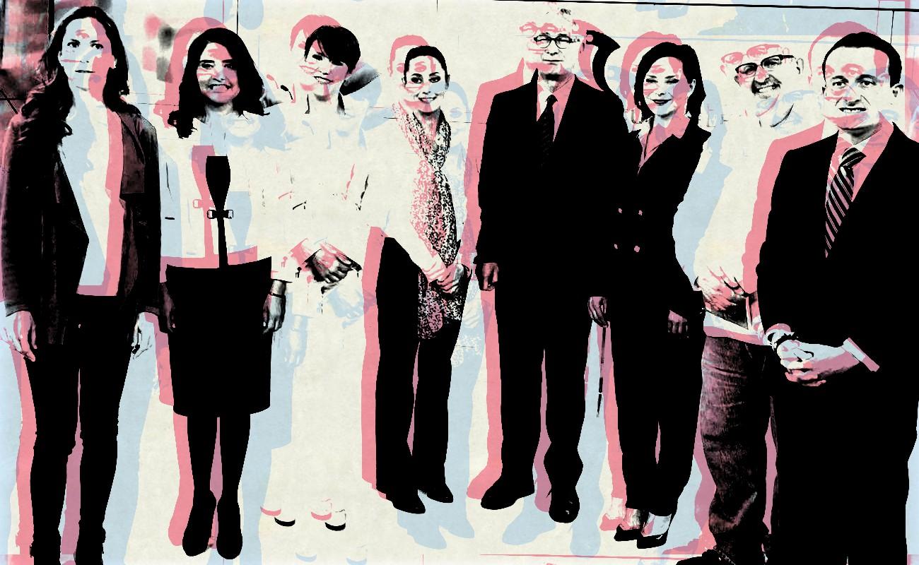 "Primer ""debate"" entre candidatos a Jefatura deGobierno CDXM"
