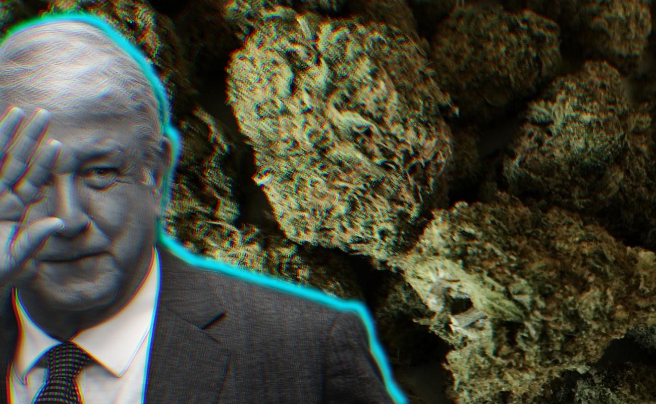 Gobierno de AMLO va por legalización de algunas drogas en México