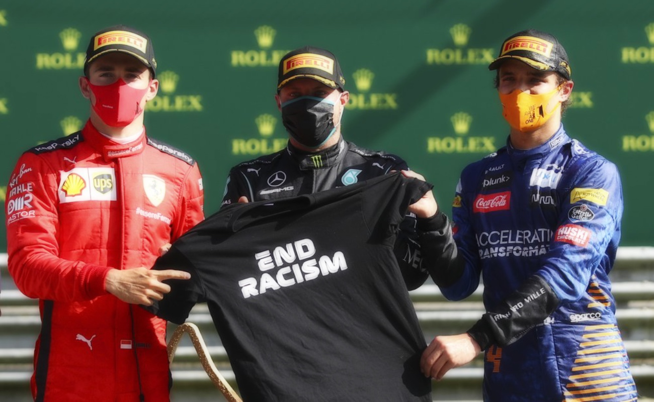 Bottas gana un accidentado GP de Austria