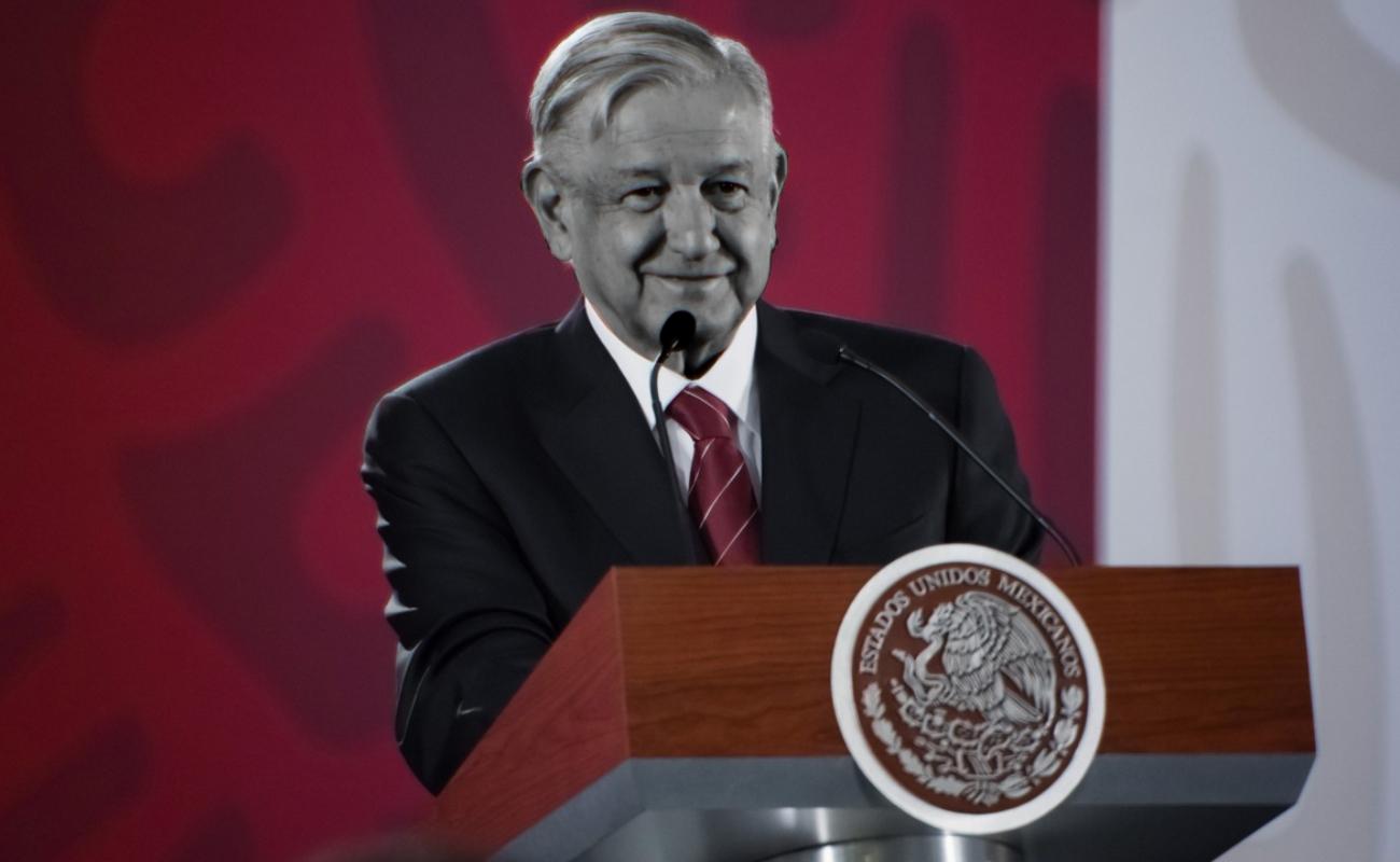 """""""No hubo línea"""", López Obrador sobre gobierno de cinco año en BC"""