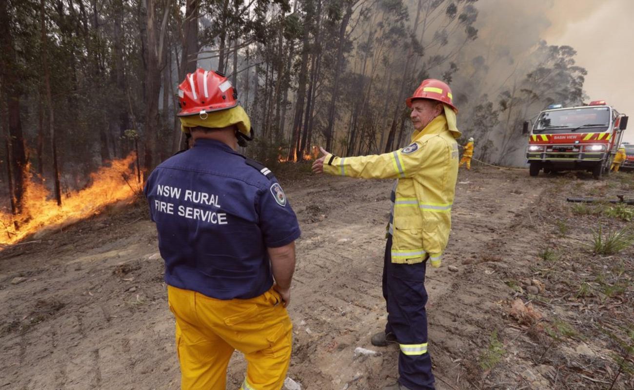 Retoman fuerza incendios forestales en Australia