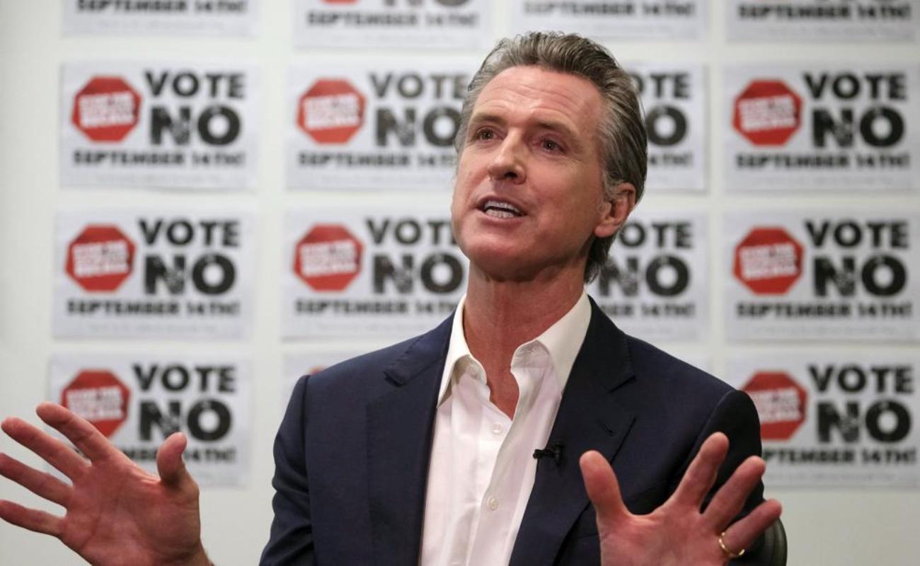 Crecen las acusaciones previo a la votación para revocar mandato del gobernador de California